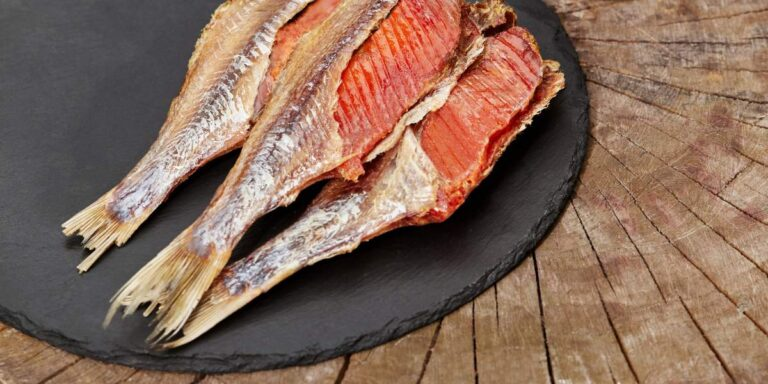 В'ялена риба з ікрою